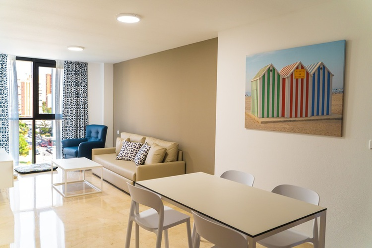 Apartment (1 bedroom) 2/4 magic atrium plaza apartments benidorm